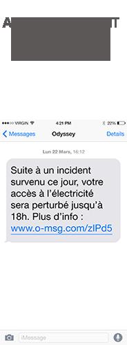 alertes incident