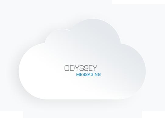 nuage avec logo odyssey
