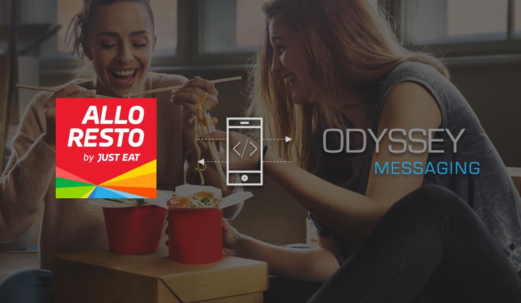 Allo Resto intègre SMS API